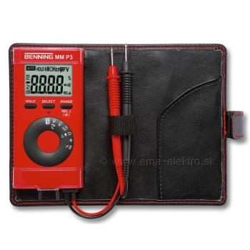 Multimeter MINI do vrecka BENNING MM P3