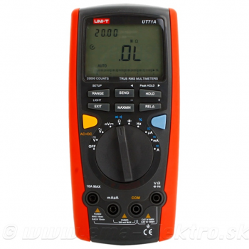 Multimeter UNI-T UT 71A PROFI, True RMS, USB