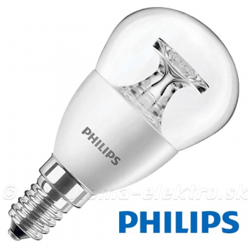 LED žiarovka  4W E14 230V PHILIPS WW gulička Č