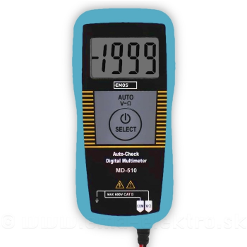 Multimeter EMOS MD-510 6-600V, extra tenký